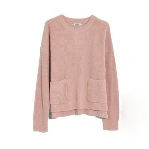 Madewell Patch Pocket Pullover Sweater XS